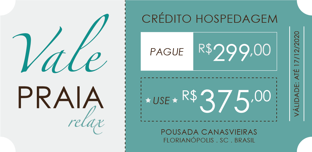 Vale Praia Relax Pague 299 Use 375